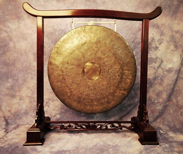 Gong Stand Designs : Gongs