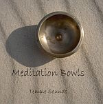 Meditation Bowls by Temple Sounds - Duel Disc! Guided Meditations & pure singing bowl music! - $19.95