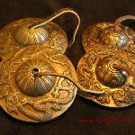 Tingsha Set - 2 Pair Dragon style